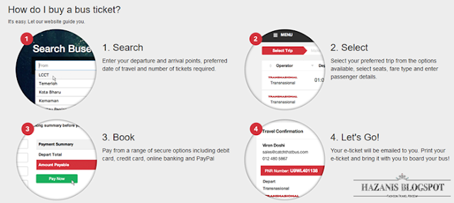 Beli Tiket Bas Online Dengan Aplikasi CatchThatBus