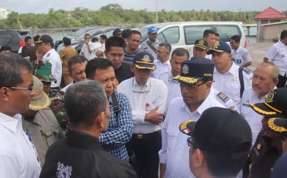 Menteri Perhubungan, Akan Teliti Manifest Kapal Naas KM. Lestari Maju