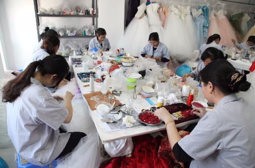 China wedding dress factory suzhou or guangzhou my for Guangzhou wedding dress market