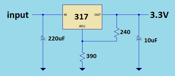 Power Supply Circuit Circuit Power Supply Regulator 030v 1a By Ic