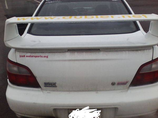 Daily Turismo: 5k: Rally Rat: 2002 Subaru Impreza WRX with