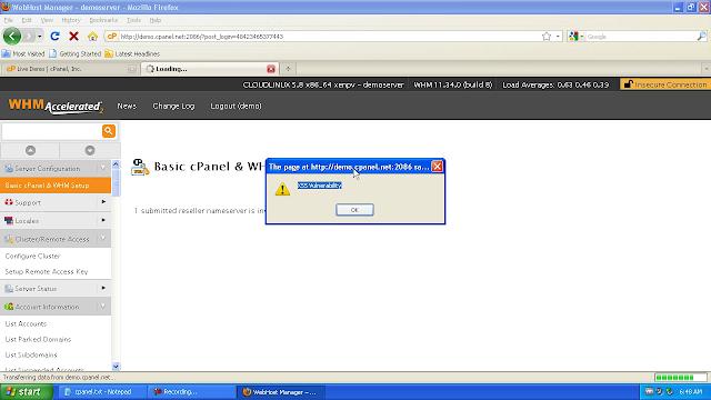 Vuln Pertamina Official Site: CPanel And WHM Multiple Cross Site Scripting Vulnerabilities