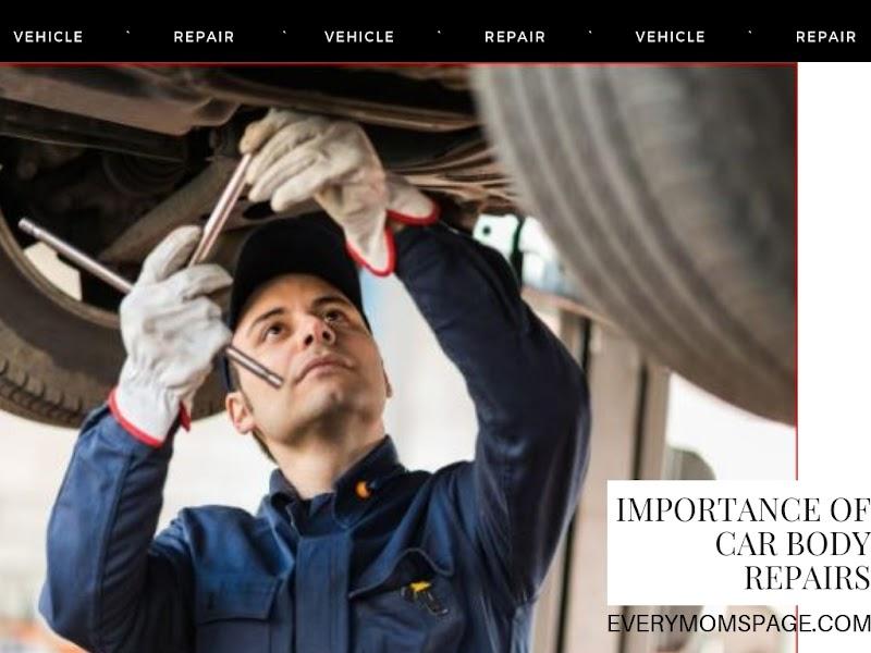 Importance of Car Body Repair