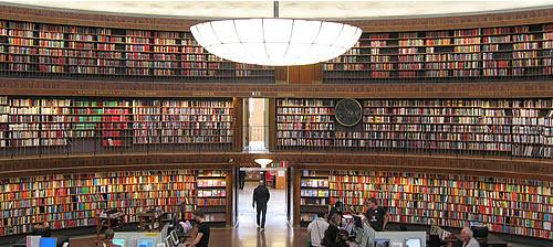 Biblioteca nacional por dentro, magnífica!