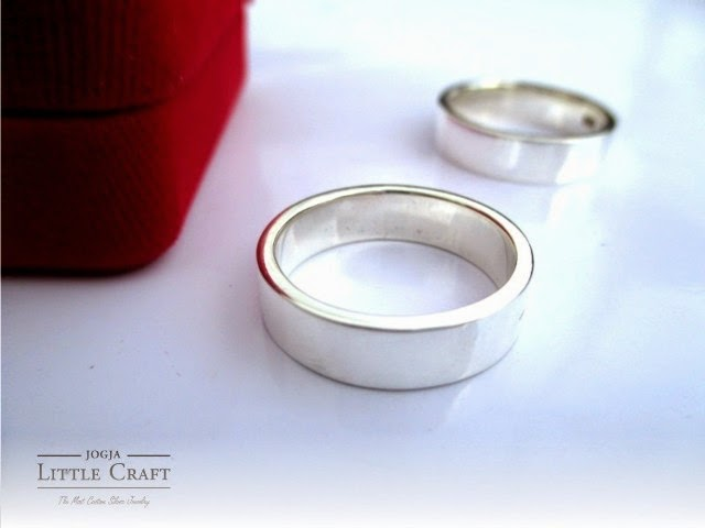 cincin perak simple nature - jogja little craft
