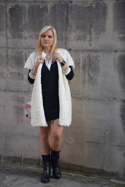 outfit abito collo lace up abbinare un abito collo lace up outfit novembre 2016 outfit invernali mariafelicia magno fashion blogger colorblock by felym fashion blog italiani fashion blogger italiane blogger italiane di modaweb influencer italiane