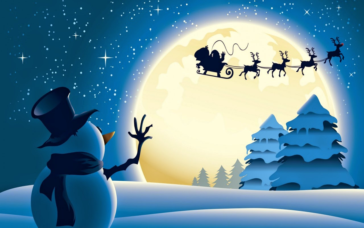 Snowman-says-bye-to-flying-santa-animation-image-picture.jpg
