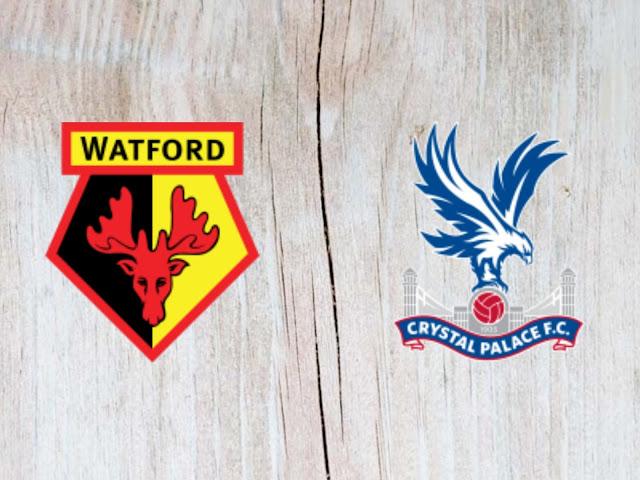 Watford vs Crystal Palace- Highlights - 26 August 2018