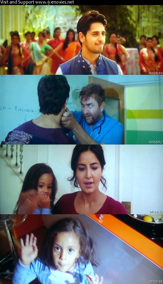 Baar Baar Dekho 2016 Hindi 720p DVDScr