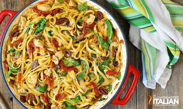 http://www.theslowroasteditalian.com/2017/10/one-pot-cheesy-greek-pasta-chicken-recipe.html