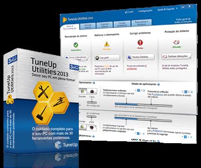 TuneUp Utilities 2013 faça o teste em 15 dias