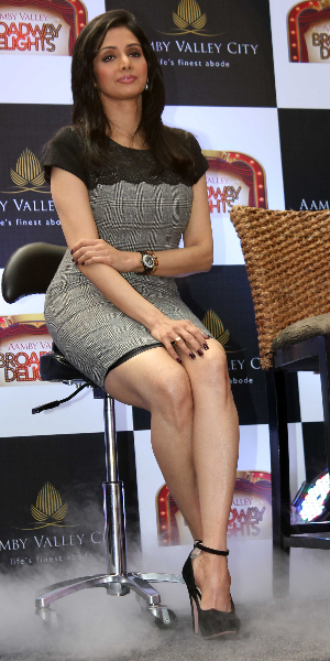 Stylish Sridevi latest hot stills