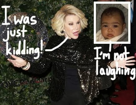 joan rivers north west ugly