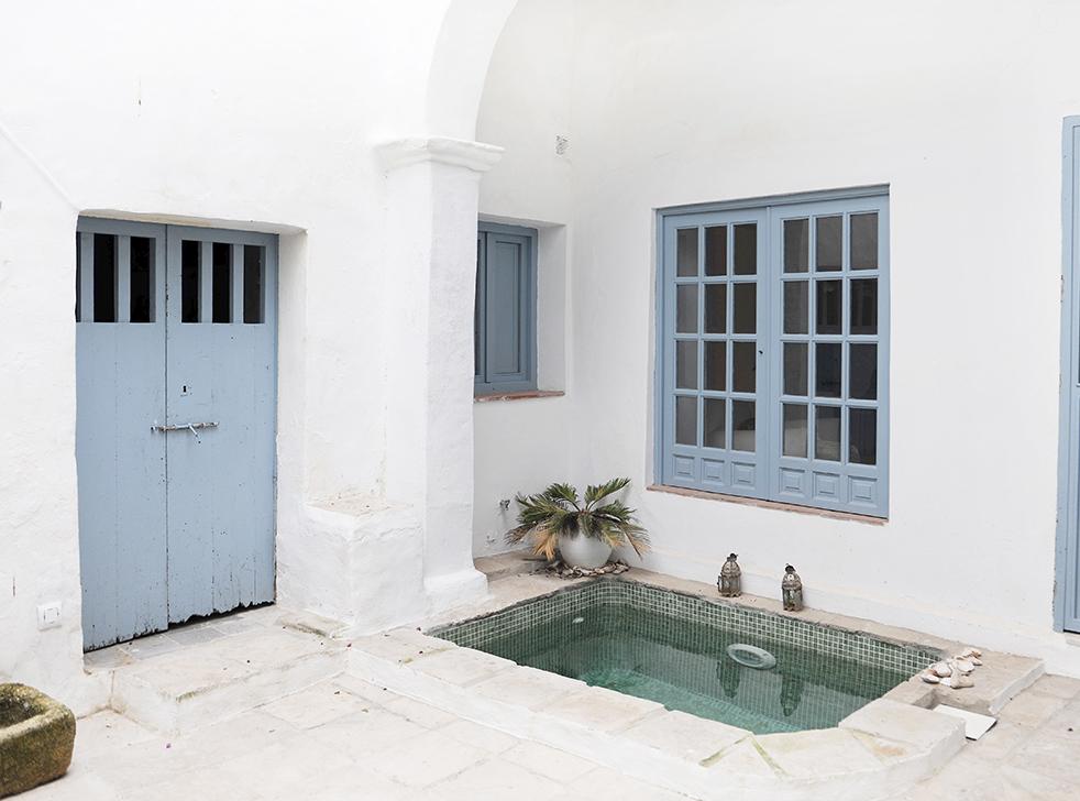 patio casa andaluza- Aciertos y desaciertos en decoración