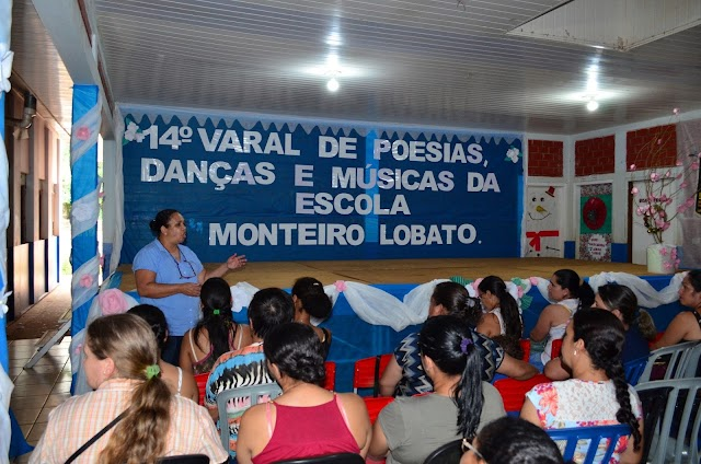 14º Varal de Poesia da Escola Monteiro Lobato de Roncador
