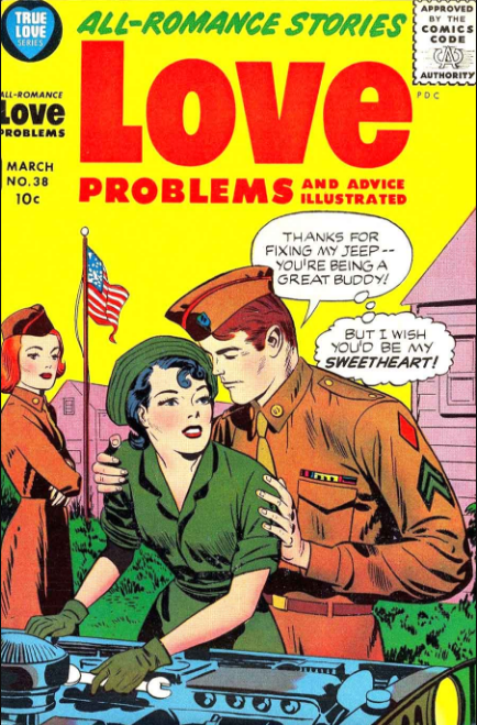 Jack Kirby Harvey Romance Comics