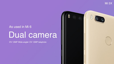 Xiaomi Mi 5X Specifications And Photos