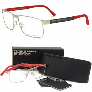 Porsche Design P8222 Carbon Fiber Stainless Steel 眼鏡