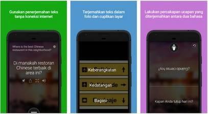 Aplikasi Microsoft Translator