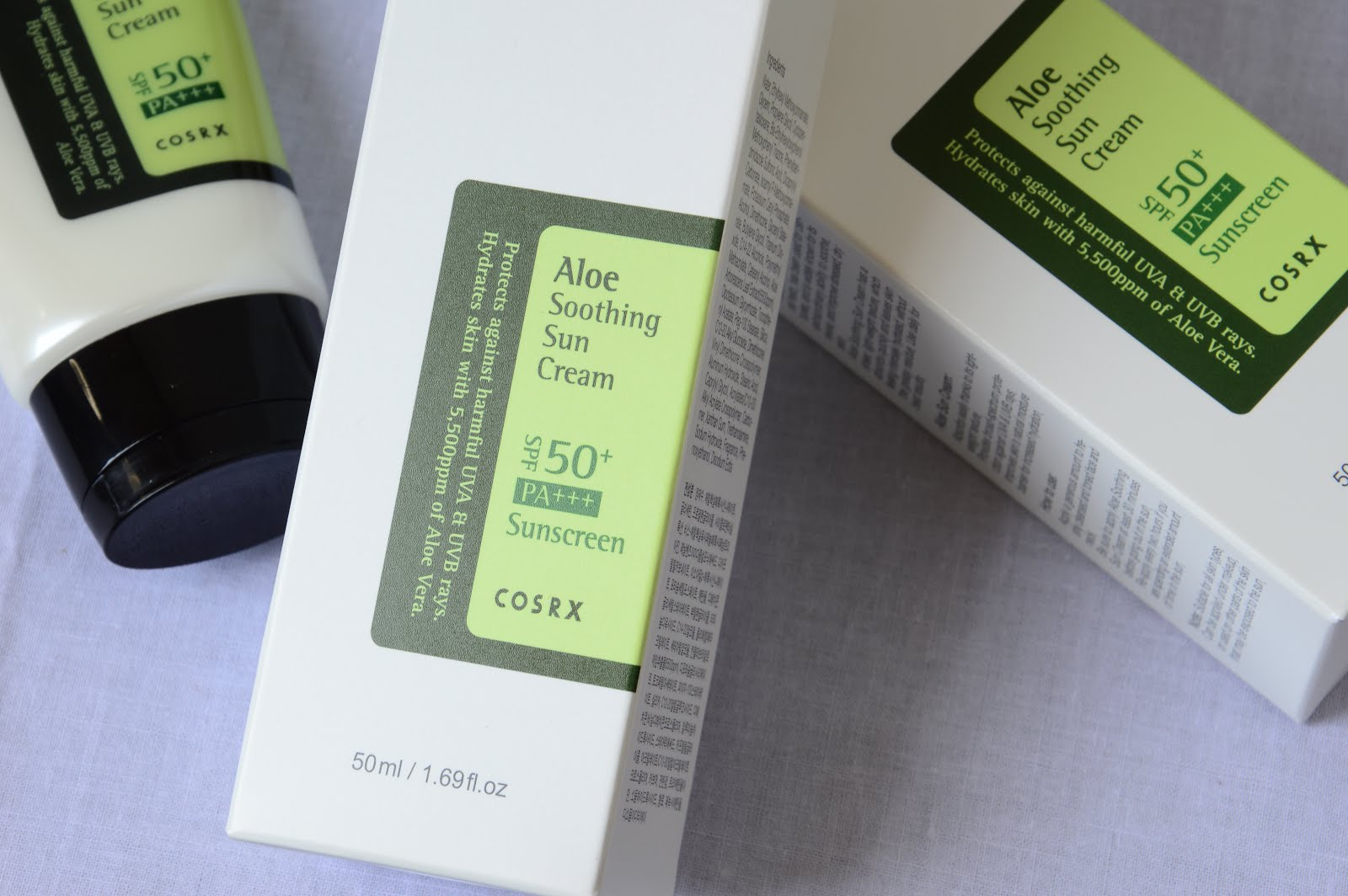 COSRX Aloe Soothing Suncream Review