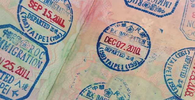 Cara urus re-entry permit di taiwan