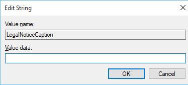 كيفية عرض رسالة أثناء بدء تشغيل ويندوز 10