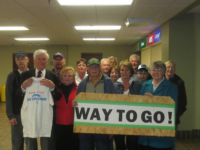Gander Schools Legacy Project: Welcome Home Rev. Oake