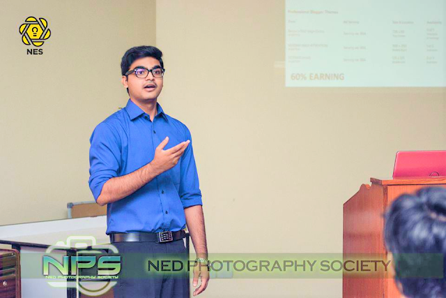 Syed Faizan Ali Animated in Workshop
