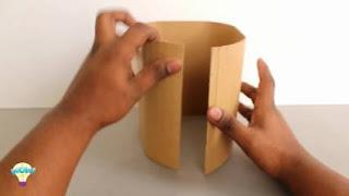 Kreasi Kreatif Cara Membuat Tempat Sampah dari Kardus Lengkap