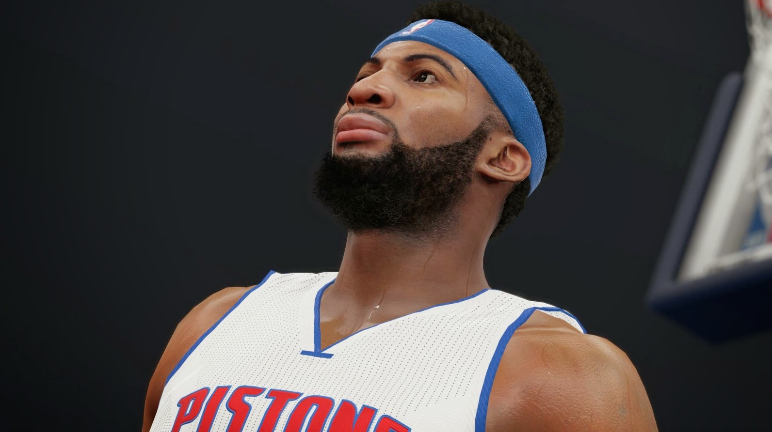 NBA 2K15 Screenshot - Andre Drummond