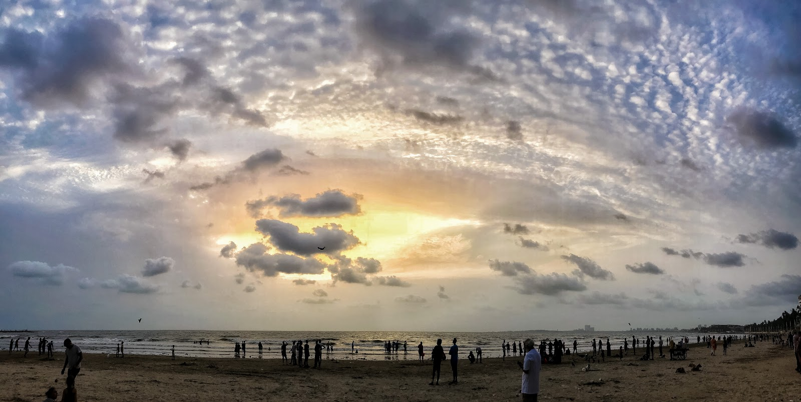 Sunset, Juhu Beach, Mumbai