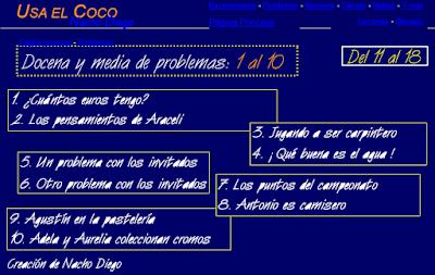 http://sauce.pntic.mec.es/jdiego/problem/docena/docenaymedia1.htm