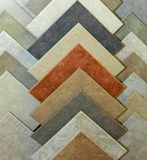 Decorative vitrifield tiles flooring design
