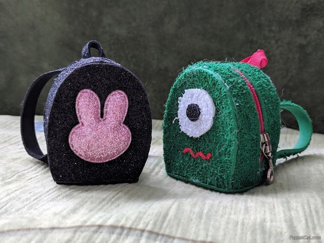 Рюкзак для куклы из фоамирана