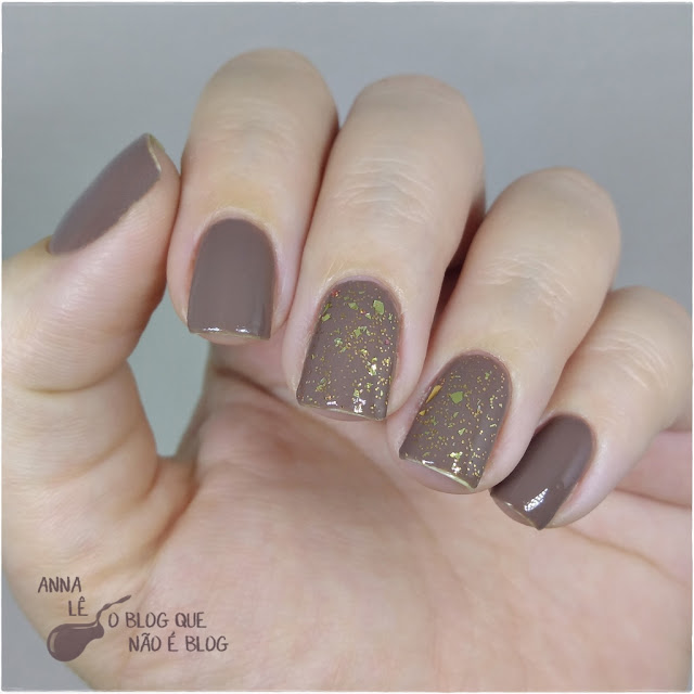 Beyu Top Coat 30 Glitter Dourado Gold