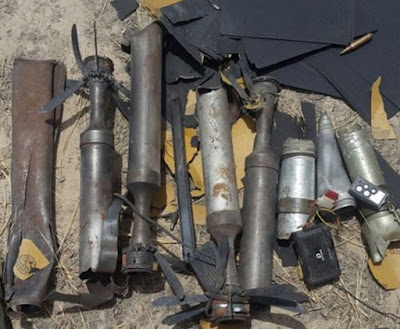 boko haram bomb production factory destroyed