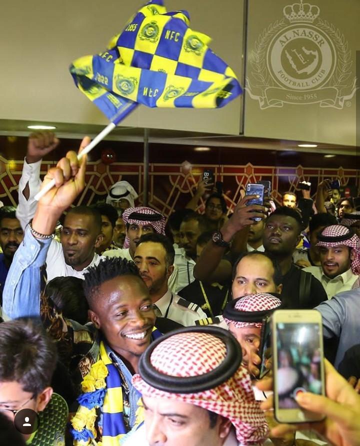 Ahmed Musa Receives Rousing Welcome In Saudi Arabia - Image ~ Naijabang