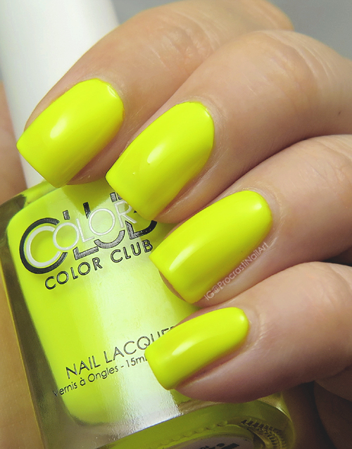 Swatch of Color Club Yellin' Yellow