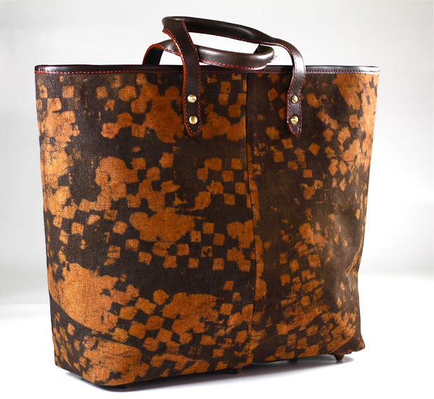 Gidan Nodza Nana Tote Leather And Canvas-leather