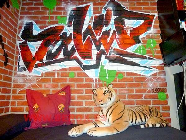 graffiti nombre David