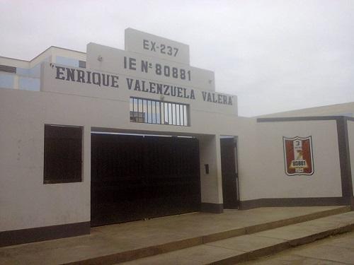 Escuela 80881 ENRIQUE VALENZUELA VALERA - Pacasmayo