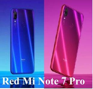 Red Mi Note 7 Pro