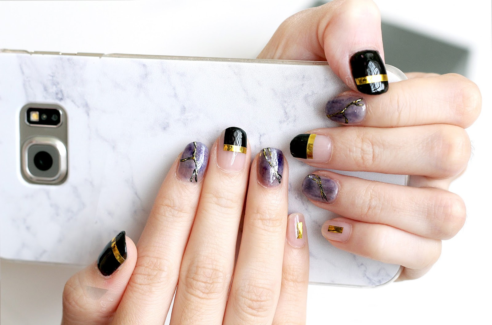 The nail artistry