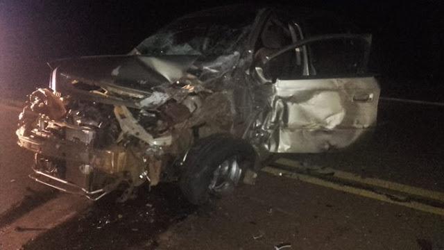 Automovilista alcoholizado chocó contra un camión y terminó detenido