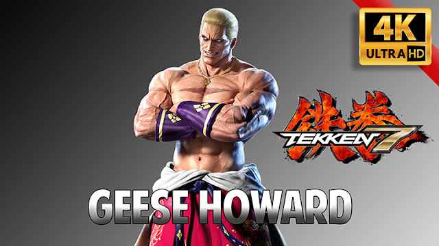 Takken 7: Geese Howard - [4K] Wallpaper Engine