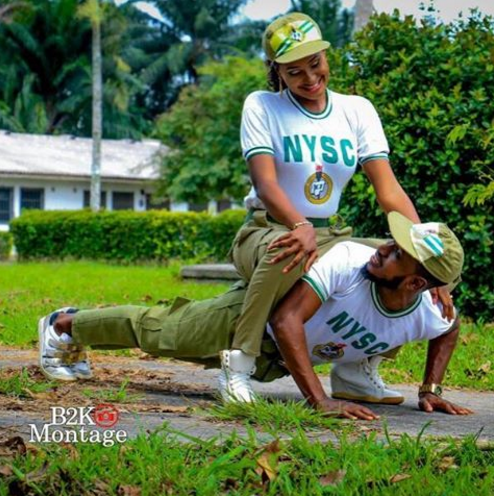 up - Beautiful pre-wedding photos of couple who met during NYSC