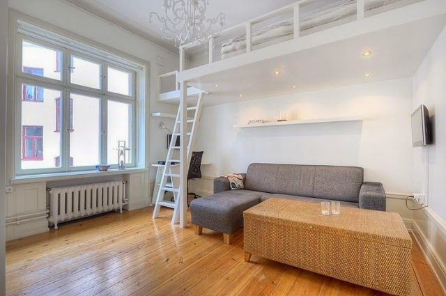 Loft Beds For Adults Good Idea For Small Apartment