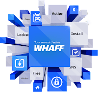 Pulsa Gratis dari Whaff rewards