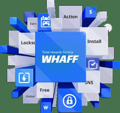 Pulsa Gratis dari Whaff rewards