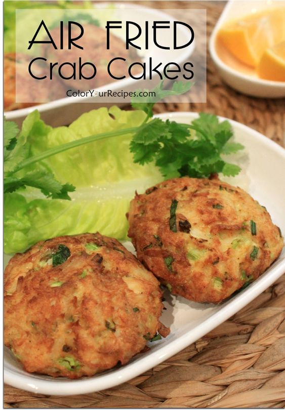 Air Fried Chunky Crab Cake
